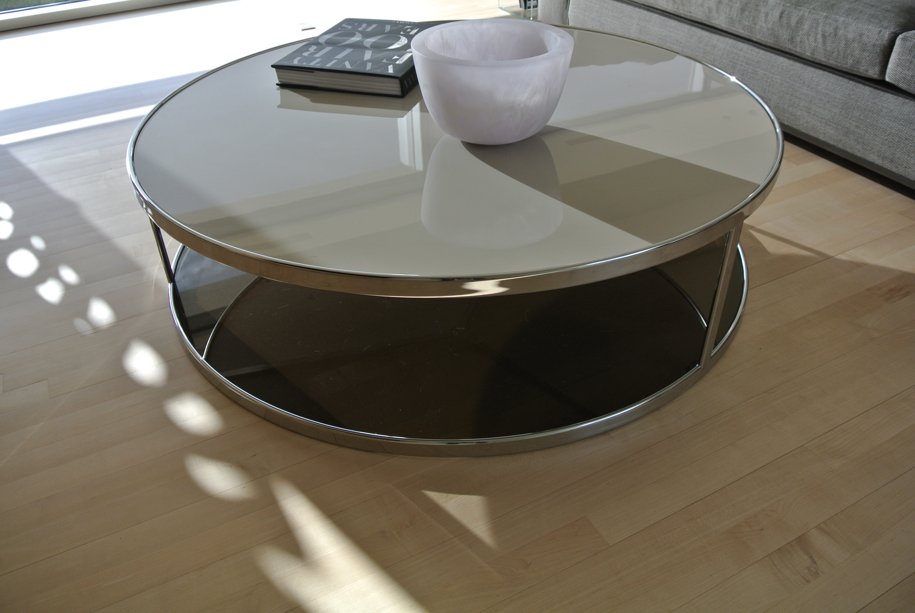 Minotti Huber Coffee Table Brand New 4000 O B O